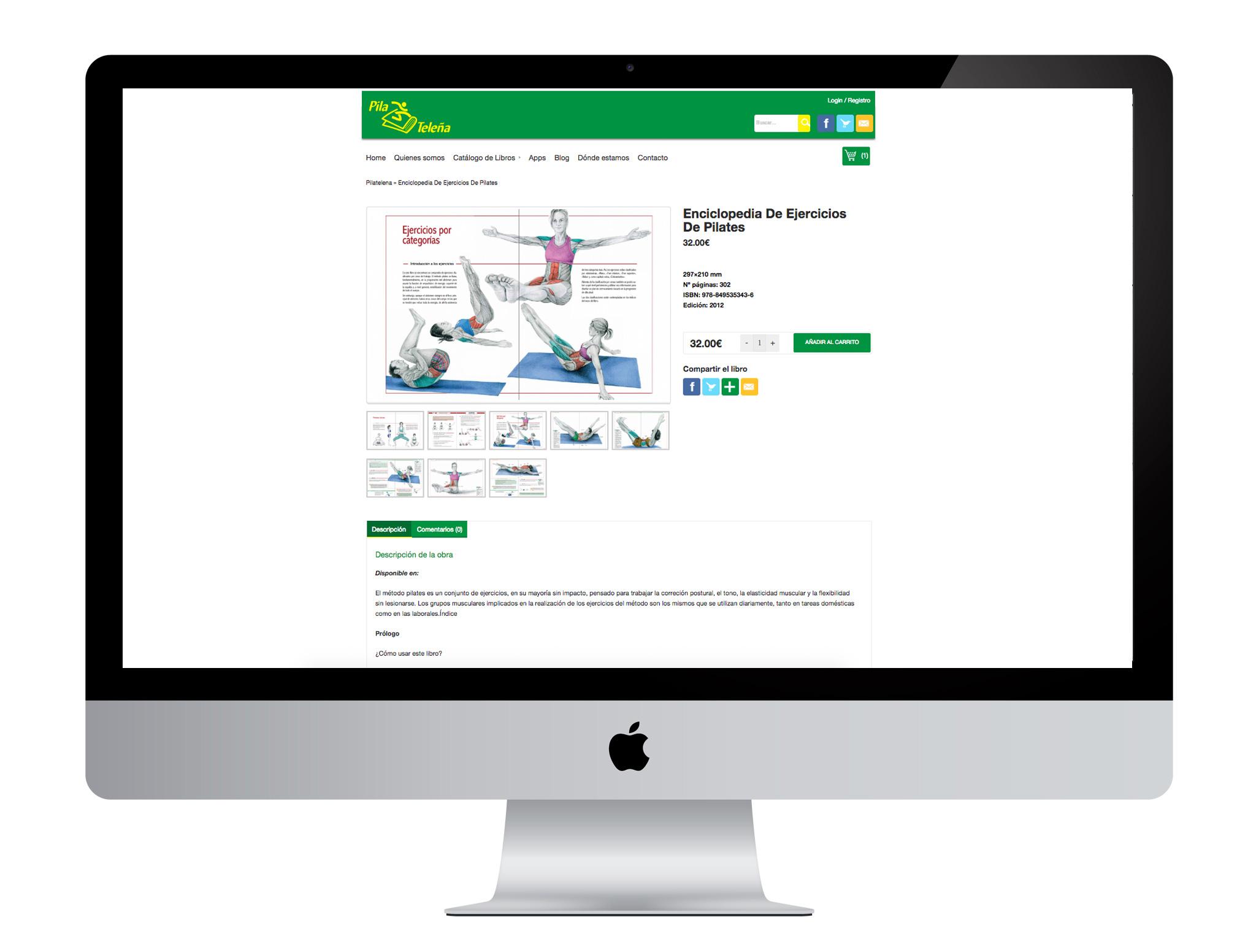Diseño gráfico, web con woocommerce realizado por agencia de marketing online Softdream