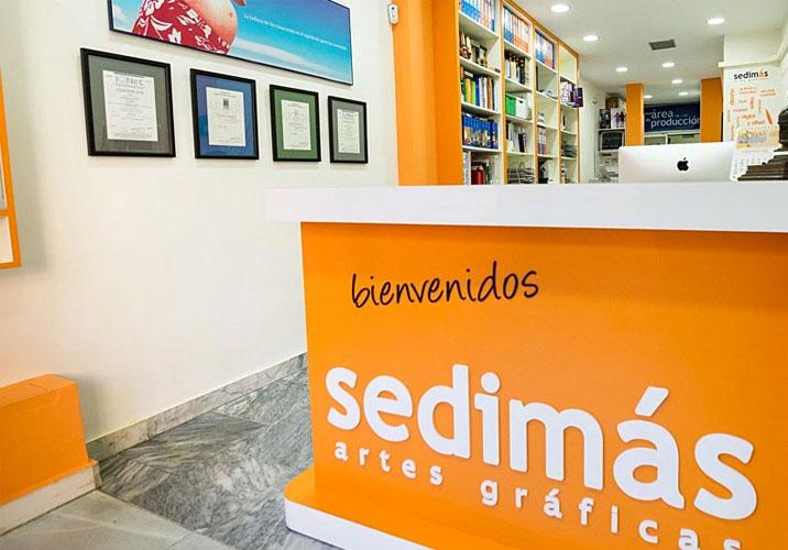 Diseño gráfico y web sedimas.es